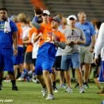 University of Florida quarterback commit Jake Allen throws a pass during Friday Night Lights- Florida Gators football- 1280x852