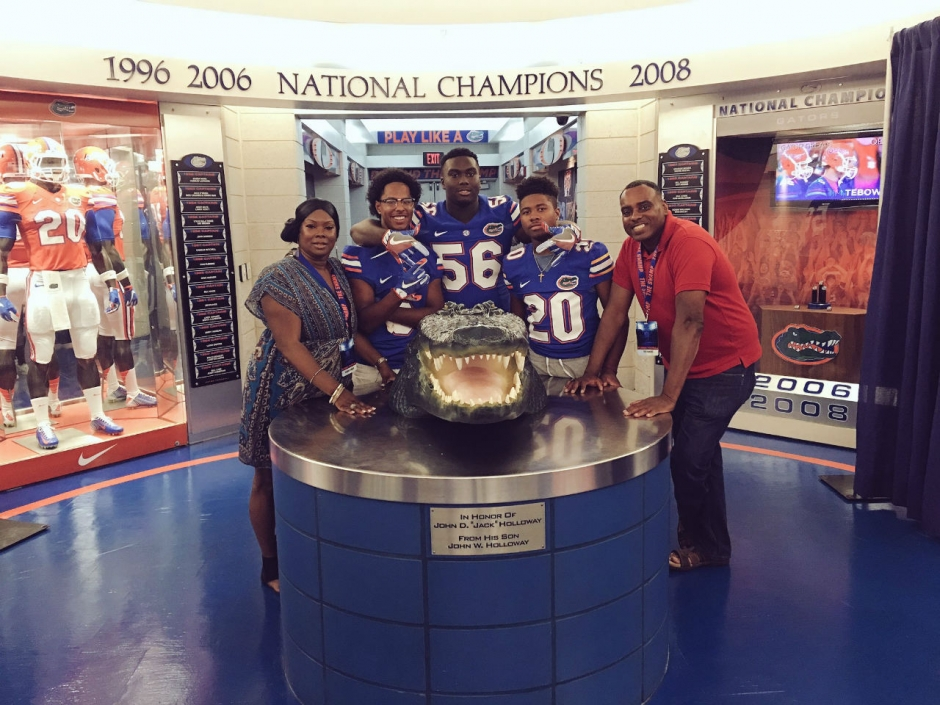 Defensive tackle Fred Hansard on his Florida Gators recruiting trip- 1280x960