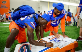 Putu making a quick transition for the Florida Gators