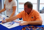 Florida Gators fan day photo gallery