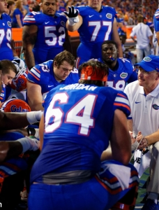 Can Florida Gators offensive line be a strength in 2016?