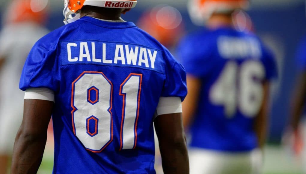 University of Florida receiver Antonio Callaway goes through his first practice of fall camp- Florida Gators football- 1280x852