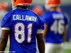 University of Florida receiver Antonio Callaway goes through his first practice of fall camp- Florida Gators football- 1280x852