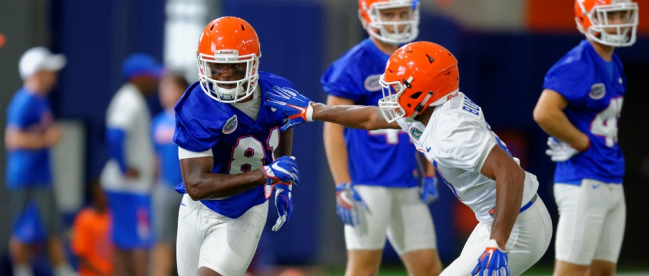 Florida Gators second fall practice photo gallery