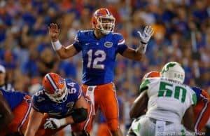 Florida Gators quarterback Austin Appleby plays against North Texas- 1280x853