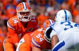 Florida Gators quarterback Luke Del Rio against Kentucky- Florida Gators football- 1280x851