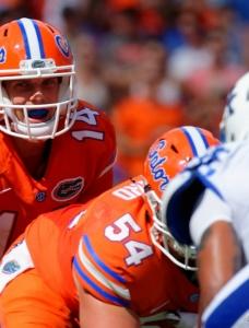 Florida Gators excited about Luke Del Rio's return