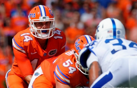 McElwain demands perfection, Luke Del Rio wouldn't want it any other way