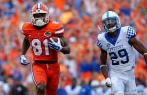 Florida Gators receiver Antonio Callaway with a long touchdown against Kentucky-1280x853