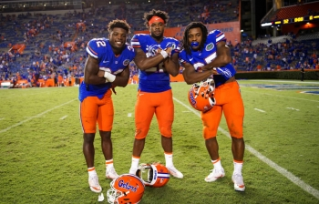 Florida Gators running backs embracing the four-headed monster