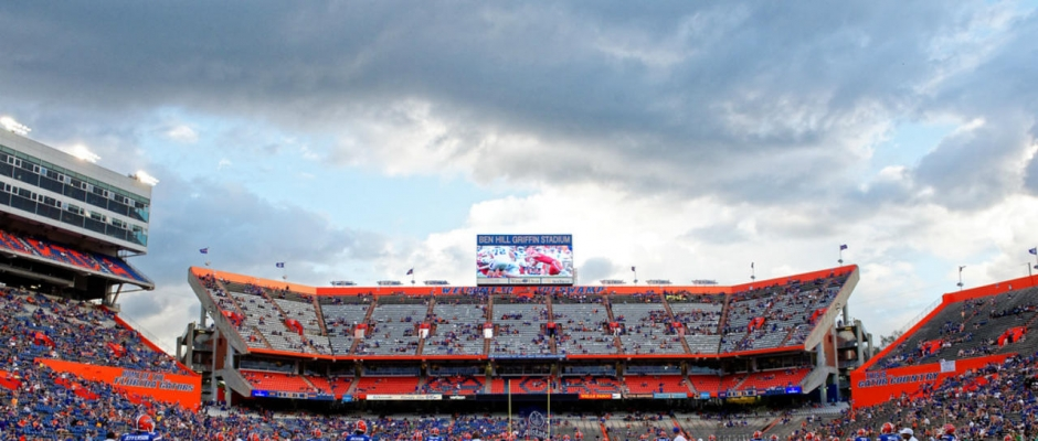 Top five best Florida Gators /Florida State games
