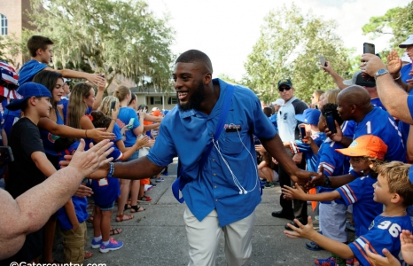 Florida Gators photo gallery: Gator walk vs. UMass