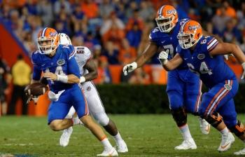 McElwain challenges Florida Gators O-Line