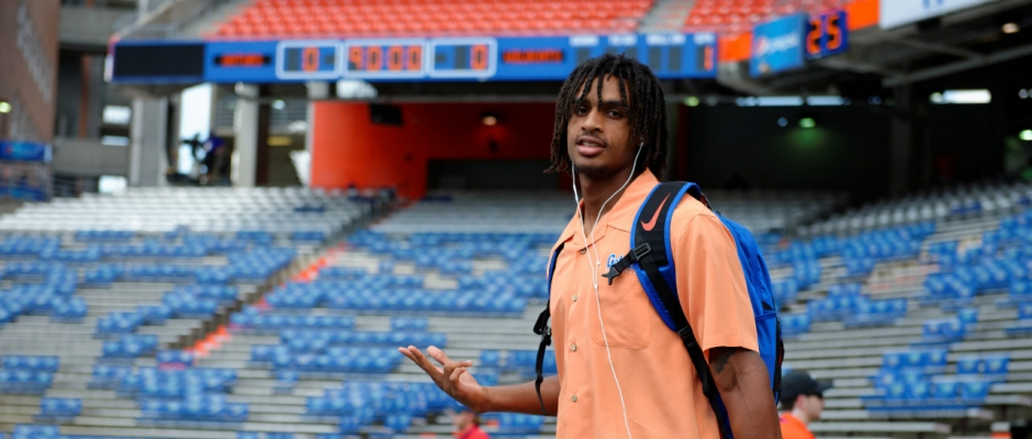 Tyrie Cleveland getting up to speed for Gators