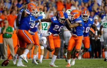 Florida Gators defense playing at historic pace
