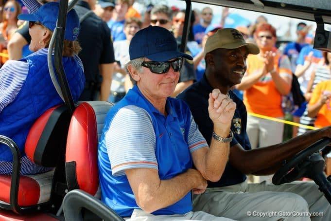 Florida Gators ambassador Steve Spurrier at Gator Walk- 1280x853