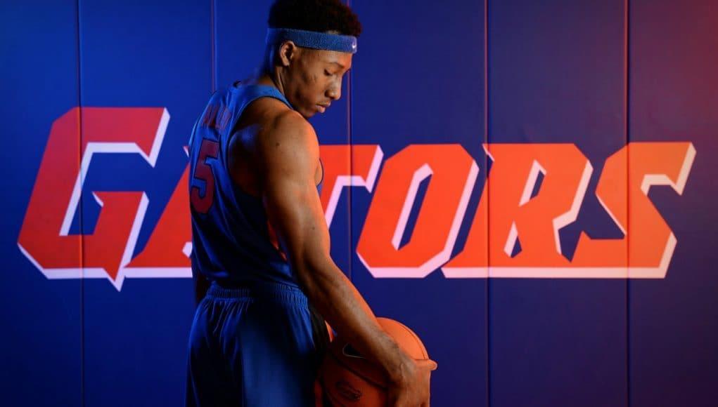 Florida Gators basketball player KeVaughn Allen at Media Days-1280x861
