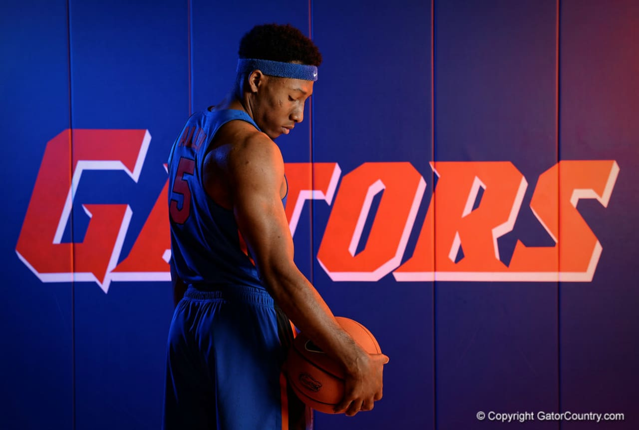 Florida Gators basketball player KeVaughn Allen at Media Days-1280x861