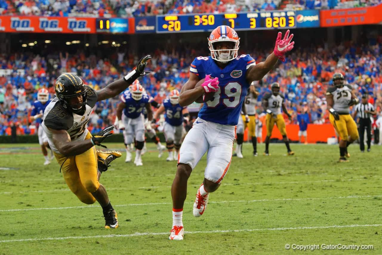 Florida-gators-receiver-tyrie-cleveland-scores-his-first-touchdown-against-missouri