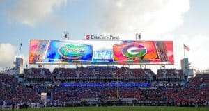 Florida Gators vs Georgia Bulldogs view- 1280x855