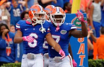 Florida Gators defense leading the way