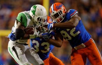 Jabari Zuniga growing into role with Florida Gators
