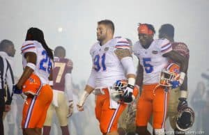 Florida Gators captains before the game against FSU in 2016- 1280x853