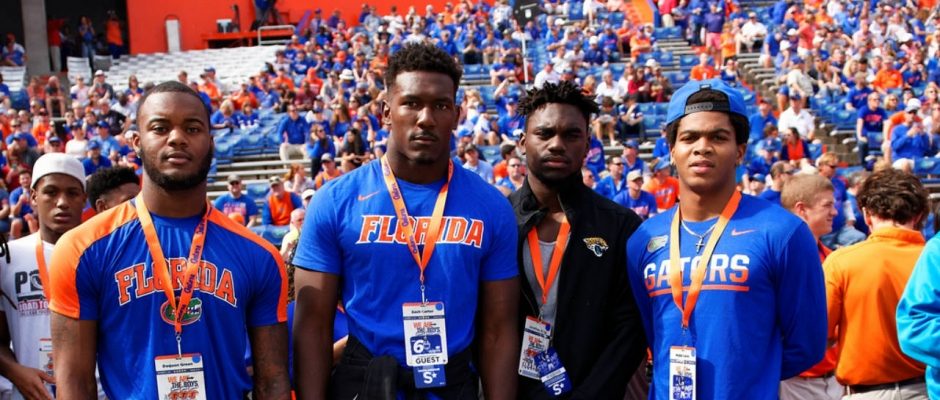 Green preparing to play early for the Florida Gators