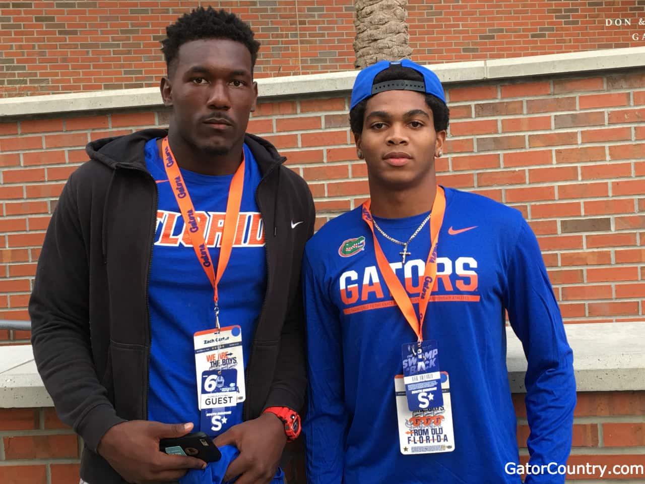 Florida Gators recruiting commits Malik Davis and Zach Carter - 1280x960