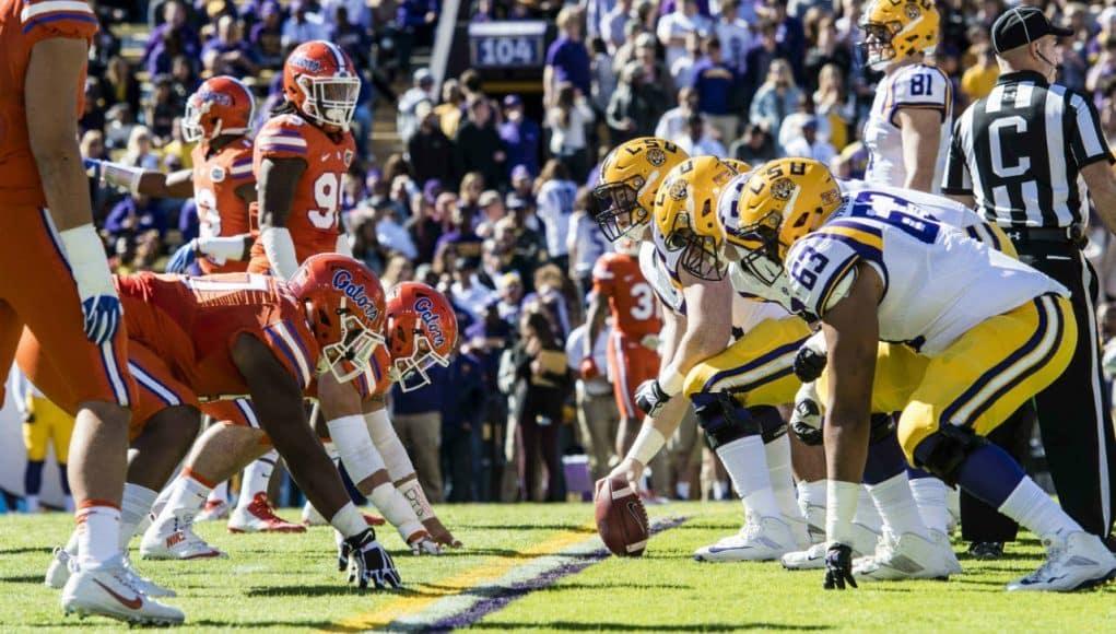 Florida Gators vs. LSU Tigers in Death Valley- 1280x852