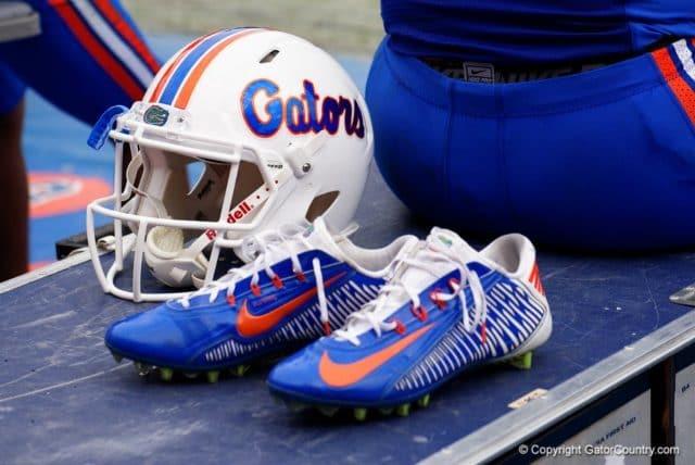 The Florida Gators wore the white helmet for senior day- 1280x855