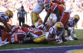 Florida Gators let actions speak for themselves on goalline stand