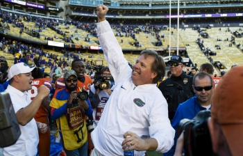 Jim McElwain earns signature win in Baton Rouge