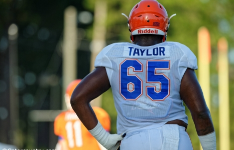 Florida Gators O-line peaking at right time