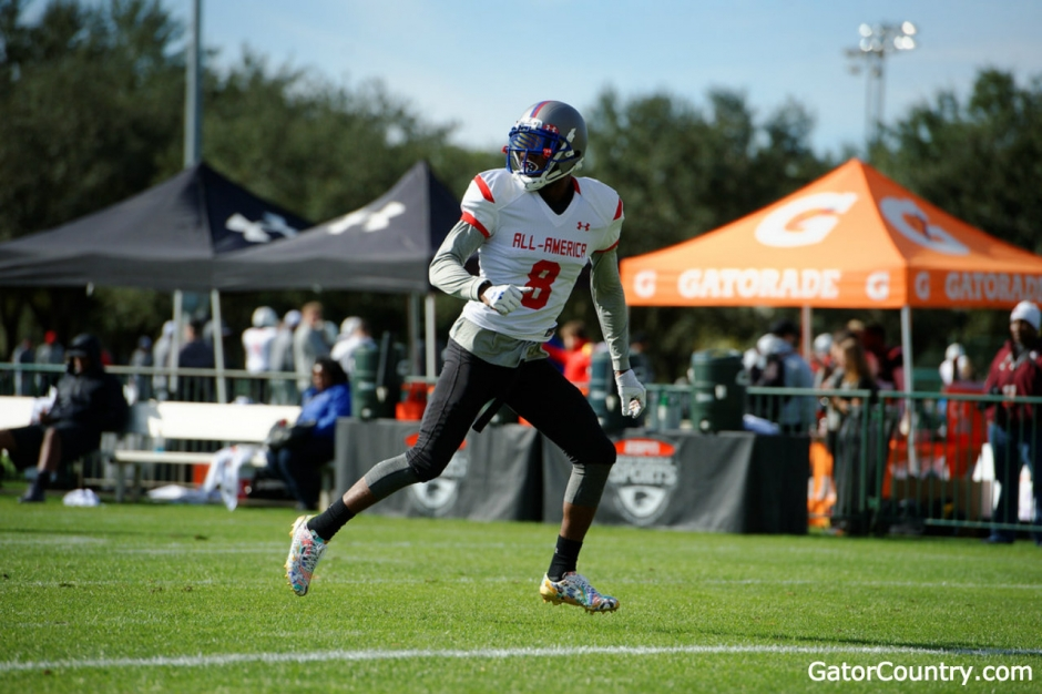 Florida Gators recruiting commit Daquon Green at Under Armour- 1280x853