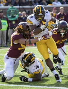 Florida Gators must stop Iowa's two-headed rushing attack