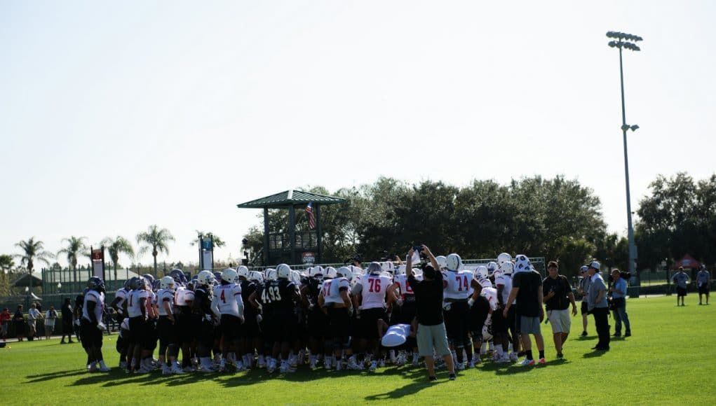 Under Armour All-Americans gather before practice- 1280x854