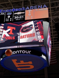 Florida Gators basketball photo gallery for Tennessee game