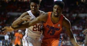 Florida Gators big man Kevarrius Hayes against Oklahoma 1280x852