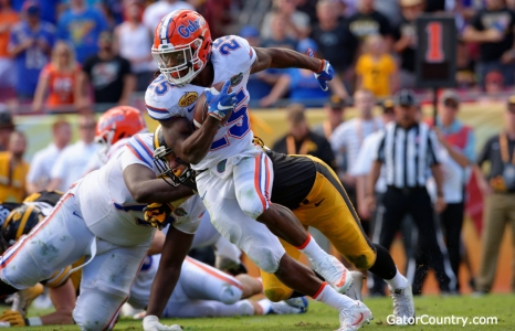 The Florida Gators Five-Headed Running Back
