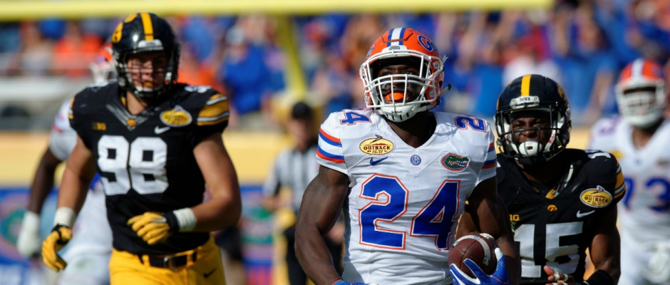Florida Gators defeats Iowa to win the Outback Bowl