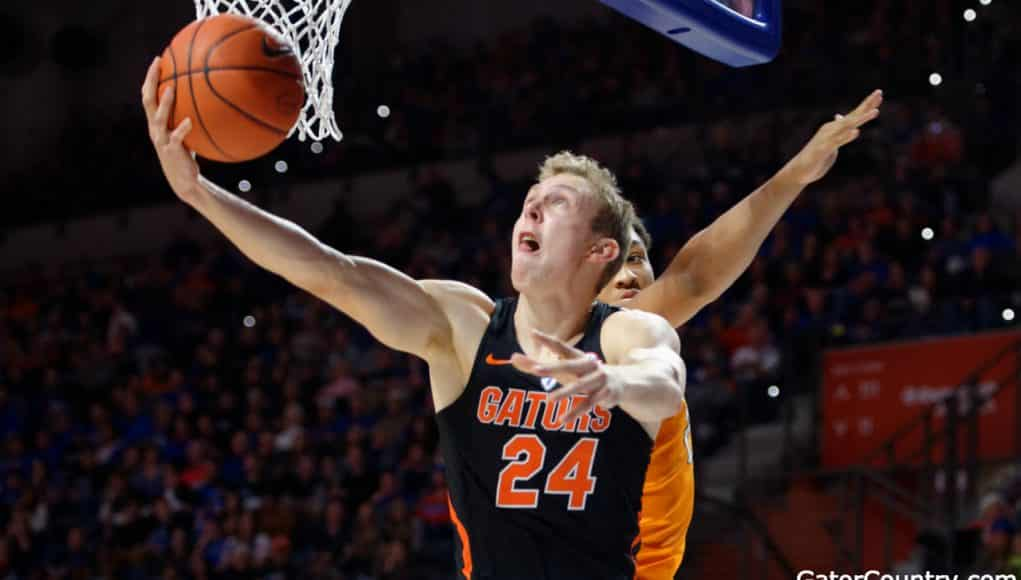 Florida Gators basketall player Canyon Barry scores- 1280x853
