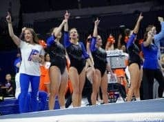 Florida Gators gymnastics defeated Georgia at home- 1280x853