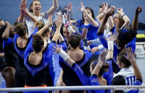 No. 3 Florida Gators gymnastics defeats No. 23 Arkansas