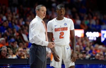 Florida Gators basketball in the SEC driver's seat with Georgia win