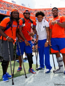 Florida Gators low on scholarship numbers this spring
