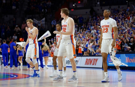 Florida Gators basketball photo gallery from the Arkansas game