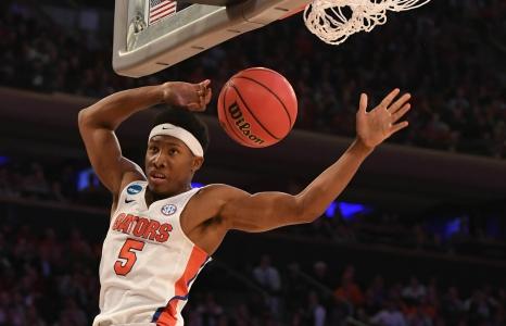 Florida Gators basketball advances on buzzer beater