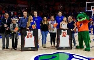 Florida Gators basketball seniors before Senior night on Wednesday- 1280x854