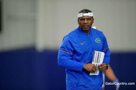 Florida Gators defensive backs coach Corey Bell- 1280x853